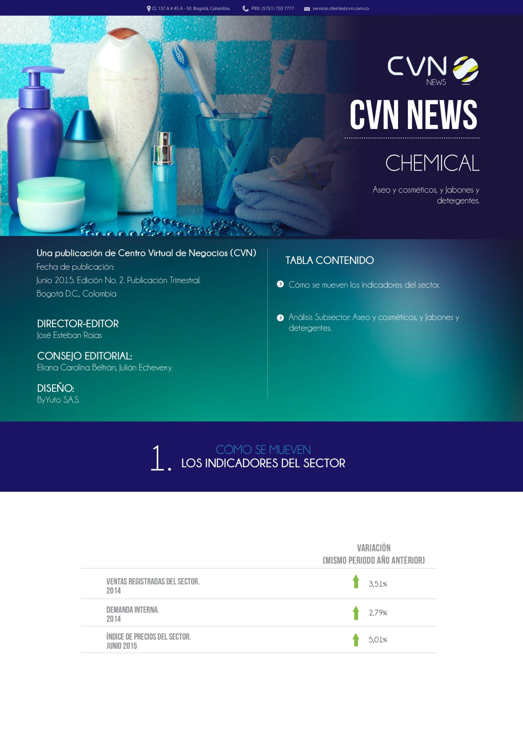 Aseo y cosméticos – Jabones y detergentes